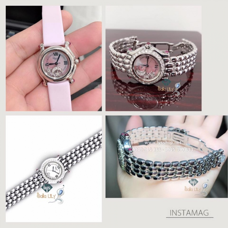 DIAMOND & BRACELET CUSTOMIZED WATCH
