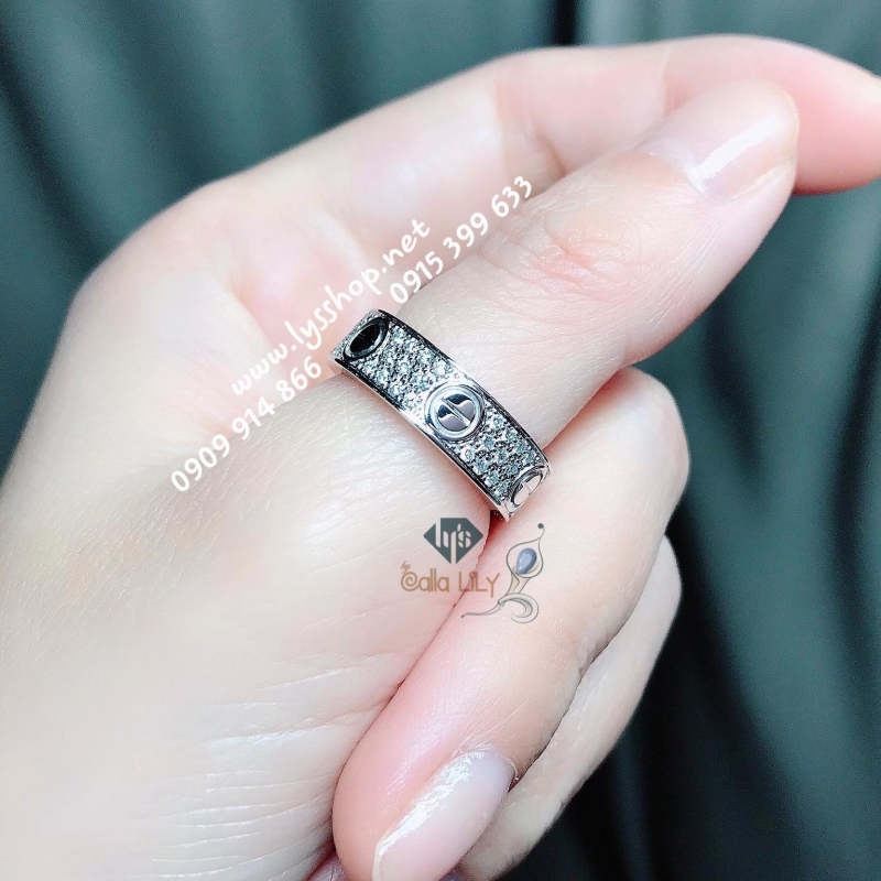 MẪU NHẪN LOVE WEDDING DIAMOND - N.5056