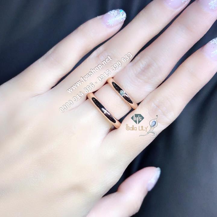 MẪU NHẪN CƯỚI ONE DIAMOND - N.5769