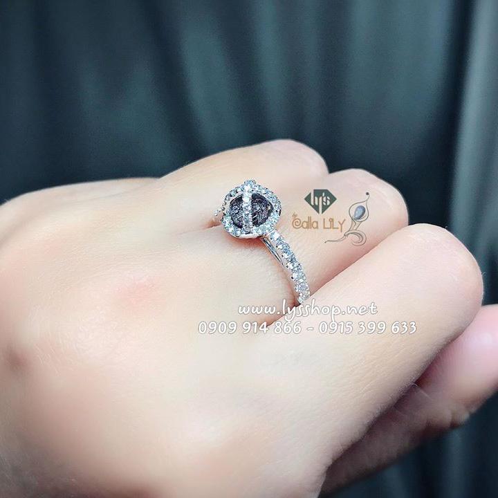 HÀNG ĐỘC - NHẪN ROUGH PURPLISH PINK DIAMOND